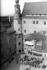 WW2 - Allemagne - La cour du Château-Oflag de Colditz