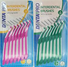 7 Interdentalbürsten Zahnzwischenraumbürste Zahn Zwischenraum Bürste Reinigung