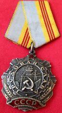 Original Soviet Labor Glory Order III/Russa-USSR/Ser Num/FREE SHIP IN US/CHARITY