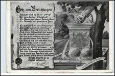 BERLICHINGEN Schöntal Götz Verse Spruch G. Walz um 1940