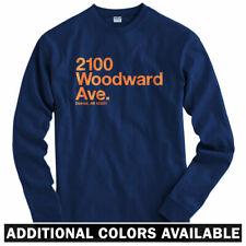 Detroit Baseball Stadium Long Sleeve T-shirt - LS Men S-4X - Tigers Motor City