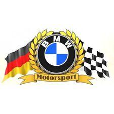 BMW Motorsport Flags Sticker