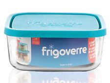 BORMIOLI ROCCO Frigoverre Verre Bouchon Bleu Carré 22.5X22.5 Stockage Alimentair