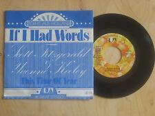 Scott Fitzgerald / Yvonne Keeley - If I had words  Vinyl  Single