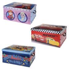 Disney Frozen Cars Paw Patrol Cardboard Room Tidy Toy Storage Gift Box Chest