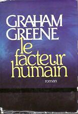 GRAHAM GREENE / LE FACTEUR HUMAIN / GRAND FORMAT