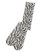 GYMBOREE EVERYDAY DRESS UP ZEBRA SKIN PRINTED NYLON TIGHTS 4 5 6 7 8 NWT