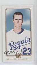 2010 Topps 206 Mini Polar Bear Back #9 Zack Greinke Kansas City Royals Card