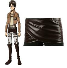 Attack on Titan Shingeki No Kyojin Leather Skirt Hookshot Belt Costume Cosplay