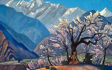 Nicholas Roerich Krishna canvas print giclee 8X12&12X17 art poster reproduction
