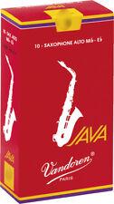 Anche de saxophone Alto Mib/Eb Vandoren JAVA RED - boite de 10 anches