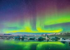 146290 Aurora Borealis Northern Lights Wall Print Poster CA
