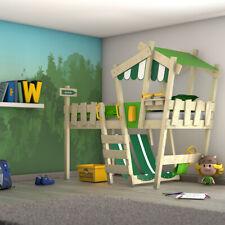 WICKEY Kinderbett Hochbett Abenteuerbett Etagenbett 90x200 cm CrAzY Hutty - Dach