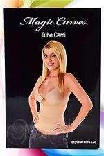Seamless Waist Cincher Tube Cami Firm Control Flatten Tummy Waistline Shape 6728