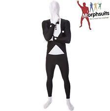 Adult Officially Licensed Morphsuit Tuxedo Design Fancy Dress Bodysuit New