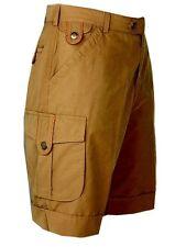 """Club Interchasse """"Luc"""" Summer shorts In Beige"""