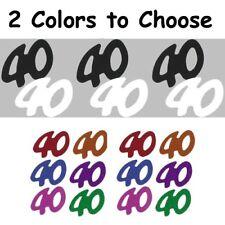 Confetti Number 40 - 2 Colors to Choose - $1.81 per 1/2 oz. FREE SHIP