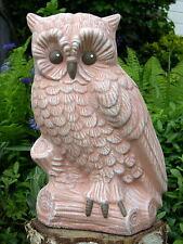 Steinfigur Eule Tierfigur Dekofigur Gartenfigur Gartendeko Steinguss frostfest