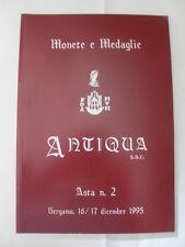 MONETE E MEDAGLI ASTA N.2, 16 E 17 DICEMBRE 1995 ED. ANTIQUA