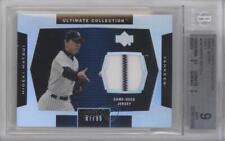 2003 Upper Deck Ultimate Collection Jersey #J-HM Hideki Matsui BGS 9 MINT Card