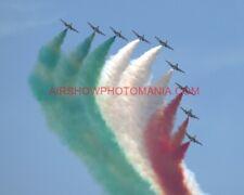 1 X AERMACCHI MB-339 FREECE DE TRICOLORI PHOTOGRAPH