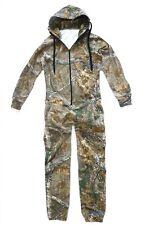 Para Hombre cazadores Oak Camo Onesie Caballeros Con Capucha Jump Suit Stealth Camping Todo En Uno