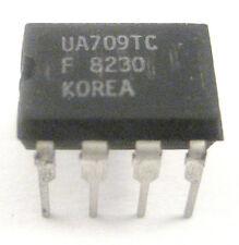 UA709TC: High Performance OP Amp: 8 Pin DIP: Very Rare Chip: Great Price!