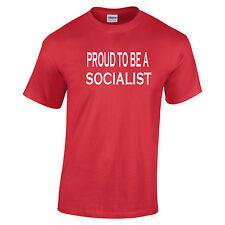 Orgulloso de ser un socialista Camiseta Jeremy corbyn trabajo ala izquierda política