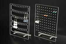 Schmuckständer transparent Ohrringständer Ohrringhalter Schmuckhalter