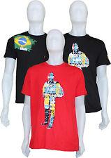 NUOVI Pantaloncini Uomo Puma Scuderia Ferrari Formula Uno Alonso/Massa T Shirt'S
