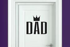 dad room door Wall Stickers Vinyl Art Decals