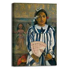 Gauguin antenati Tehamana design quadro stampa tela dipinto telaio arredo casa