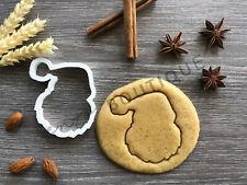 Santa Cookie Cutter | Christmas | Fondant Cake Decorating | UK Seller