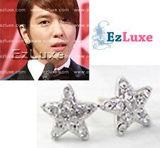 Korean K-POP JPOP CNBLUE YONG HWA Mini Cubic Star Earrings bling small stud CZ