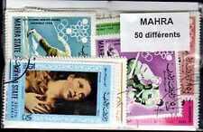 MAHRA collections de 25 à 100 timbres différents