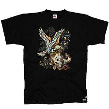 * t-shirt tatuaje style Designer muerte rythm Flash Adler * 4236
