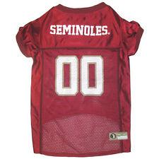 Florida St. Seminoles NCAA Pets First Licensed Dog Pet Mesh Jersey XS-2XL NWT