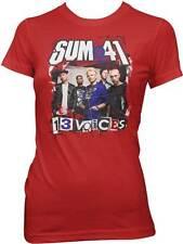 SUM 41 - 13 Voices - Juniors T SHIRT top S-M-L-XL Brand New Official Top