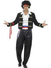 80s New Romantic Costume Rockstar Halloween Party Dress Up Fancy Dress Costume
