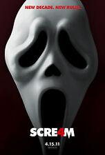 SCREAM 4 Movie Poster Wes Craven