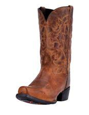 Laredo Western Boot Mens 12 Bryce Cowboy Heel CST Tan Distressed 68442