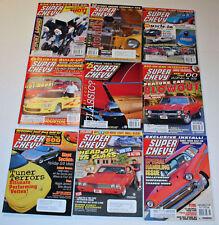 9 Super Chevy Magazines Chevelle Camaro Nova Corvette