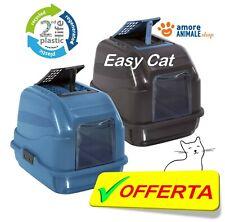 Imac EASY CAT LETTIERA chiusa 50x40x40 cm per gatto, 2 colori PLASTICA RICICLATA
