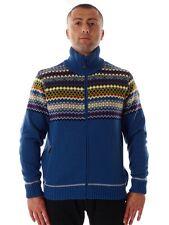 CMP Cardigan Jacket Collar Jacket blau Pattern Teflon windproof