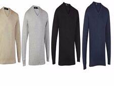 Maglione COLLO V accostare Maglione Abbigliamento S M L XL 2XL 3XL 4XL 5XL
