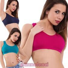 Top mujer sujetador fitness gimnasio deporte elástico lingerie nuevo LBD-W610