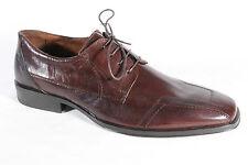 Franco Buzzato Men's Lace-Up Shoes, Low Shoe Sneaker Brown, New
