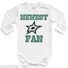 Baby bodysuit Newest fan Dallas Stars, NHL, kids One Piece jersey