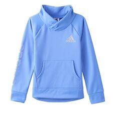 NWT Adidas Girls Shawl-Collar Fleece-Lined Performance Pullover AA4328 $40 (25I)