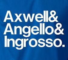 AXWELL ANGELLO & INGROSSO T-Shirt Swedish House Mafia Sweden Electro S-6XL Tee